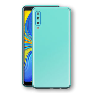 Samsung Galaxy A7 (2018) MINT Matt Skin, Decal, Wrap, Protector, Cover by EasySkinz | EasySkinz.com