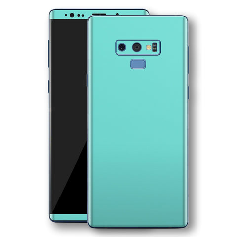 Samsung Galaxy NOTE 9 MINT Matt Skin, Decal, Wrap, Protector, Cover by EasySkinz | EasySkinz.com