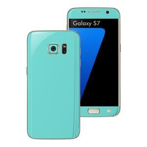 Samsung Galaxy S7 Mint Matt Skin Wrap Decal Sticker Cover Protector by EasySkinz
