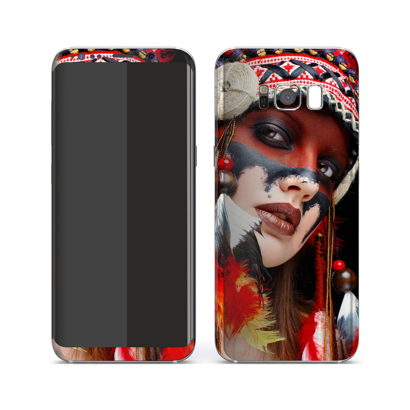 Samsung Galaxy S8+ Print Custom Signature Native American Skin Wrap Decal by EasySkinz