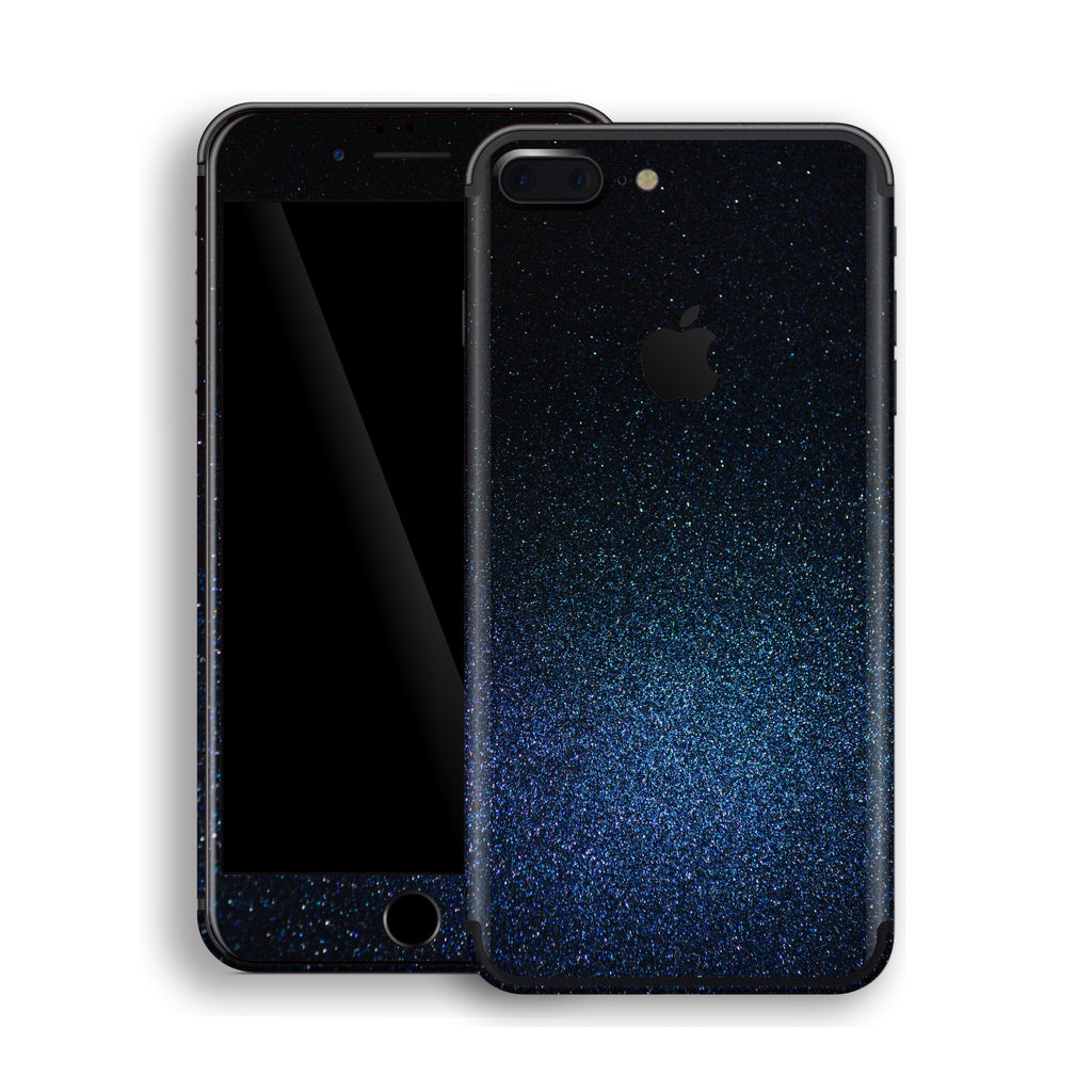 iPhone 7 Plus Glossy Midnight Blue Metallic Skin, Decal, Wrap, Protector, Cover by EasySkinz | EasySkinz.com