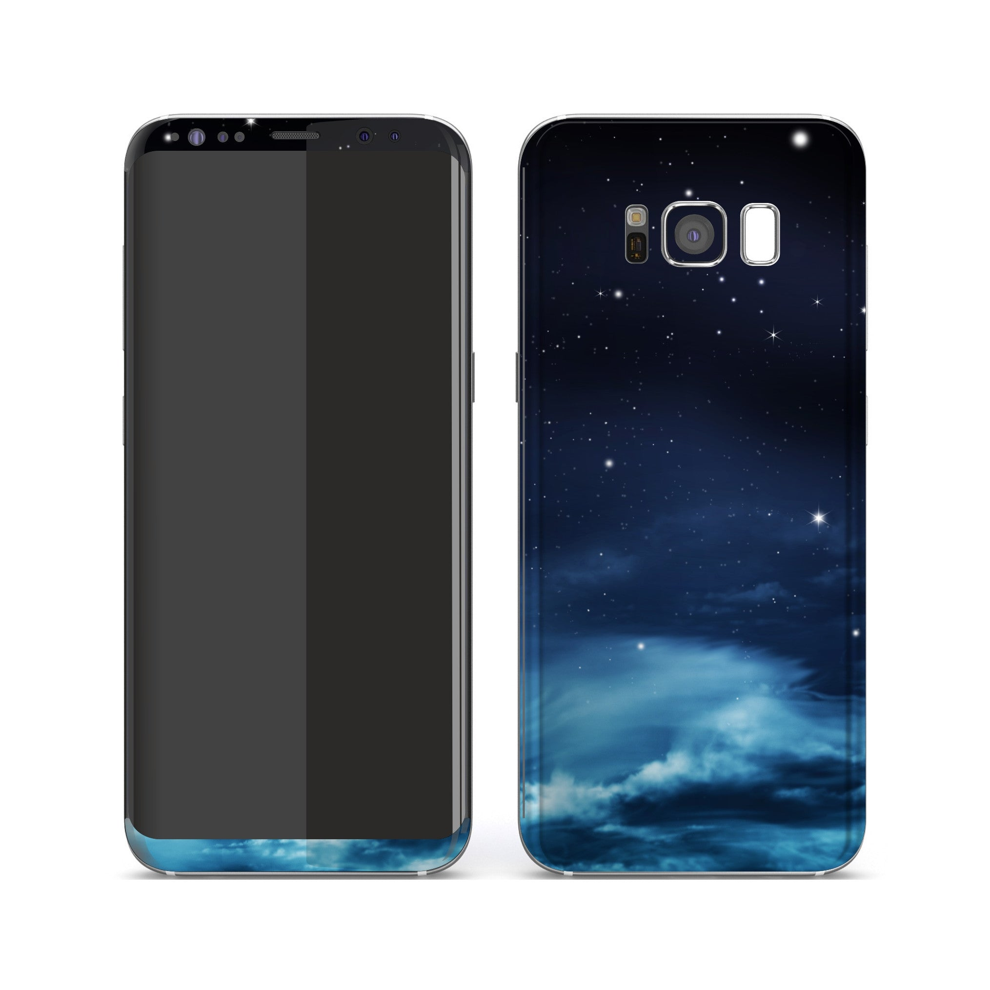 Samsung Galaxy S8+ Print Custom Signature Night Sky Skin Wrap Decal by EasySkinz