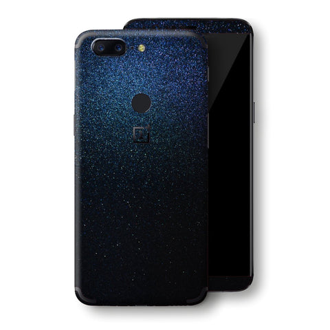 OnePlus 5T Glossy Midnight Blue Metallic Skin, Decal, Wrap, Protector, Cover by EasySkinz | EasySkinz.com