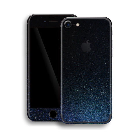 iPhone 7 Midnight Blue Metallic Skin, Wrap, Decal, Protector, Cover by EasySkinz | EasySkinz.com