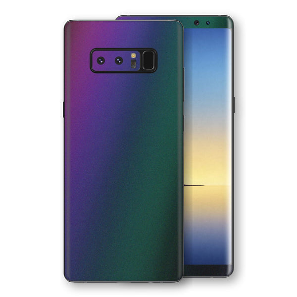 Samsung Galaxy NOTE 8 Chameleon DARK OPAL Colour-Changing Skin, Decal, Wrap, Protector, Cover by EasySkinz | EasySkinz.com