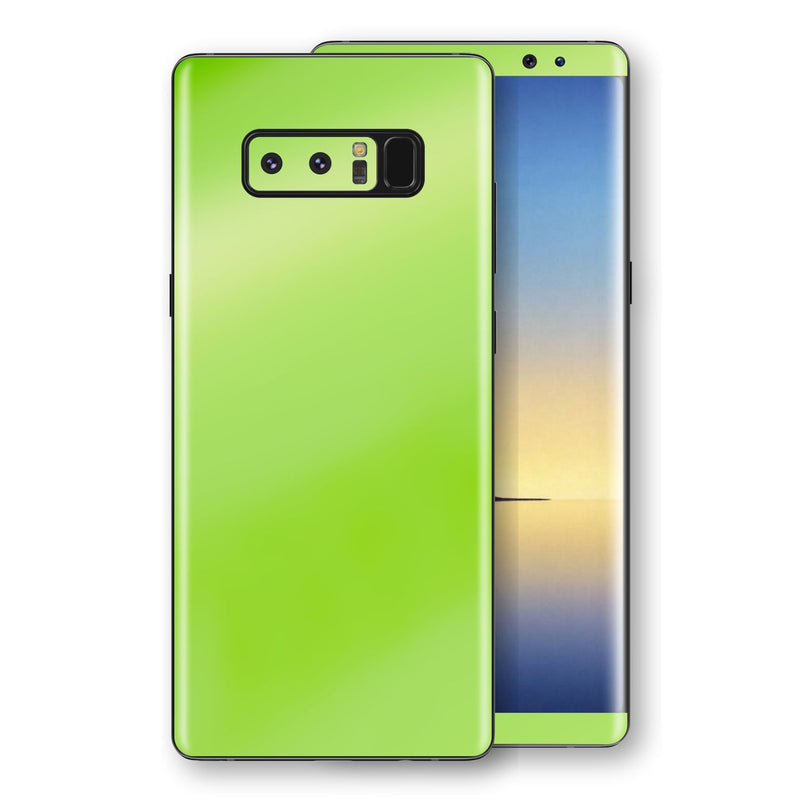 Samsung Galaxy NOTE 8 Apple Green Pearl Gloss Finish Skin, Decal, Wrap, Protector, Cover by EasySkinz | EasySkinz.com