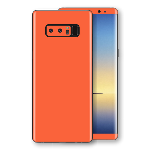 Samsung Galaxy NOTE 8 Glossy CORAL Skin, Decal, Wrap, Protector, Cover by EasySkinz | EasySkinz.com