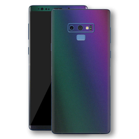 Samsung Galaxy NOTE 9 Chameleon DARK OPAL Skin Wrap Decal Cover by EasySkinz
