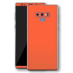 Samsung Galaxy NOTE 9 CORAL Glossy Gloss Finish Skin, Decal, Wrap, Protector, Cover by EasySkinz | EasySkinz.com