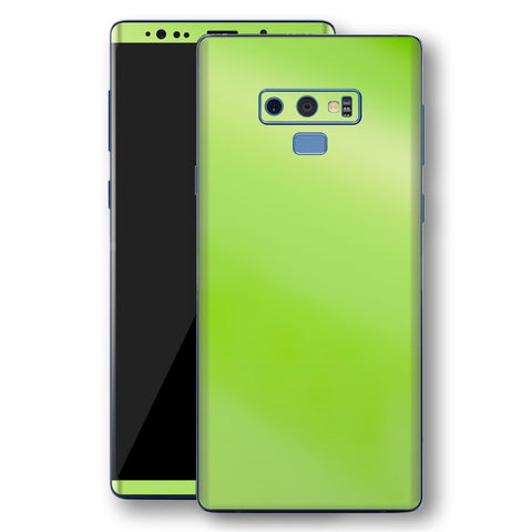 Samsung Galaxy NOTE 9 Apple Green Pearl Gloss Finish Skin Wrap Decal Cover by EasySkinz