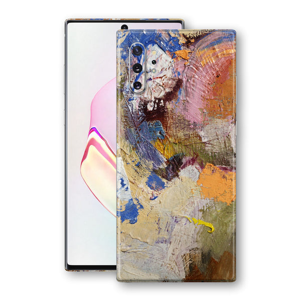 Samsung Galaxy NOTE 10+ PLUS Print Custom SIGNATURE DISTURBANCES Art Skin Wrap Decal by EasySkinz