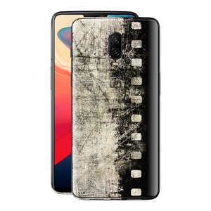 OnePlus 6T Print Custom Signature Vintage Old Cine Film Skin Wrap Decal by EasySkinz