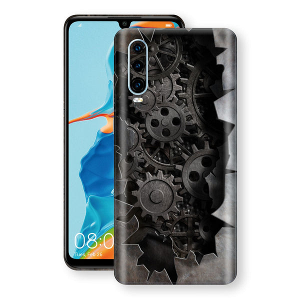 Huawei P30 Print Custom Signature 3D Old Machine Skin Wrap Decal by EasySkinz