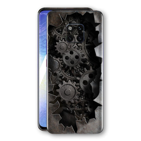 Huawei MATE 20 PRO Print Custom Signature 3D Old Machine Skin Wrap Decal by EasySkinz