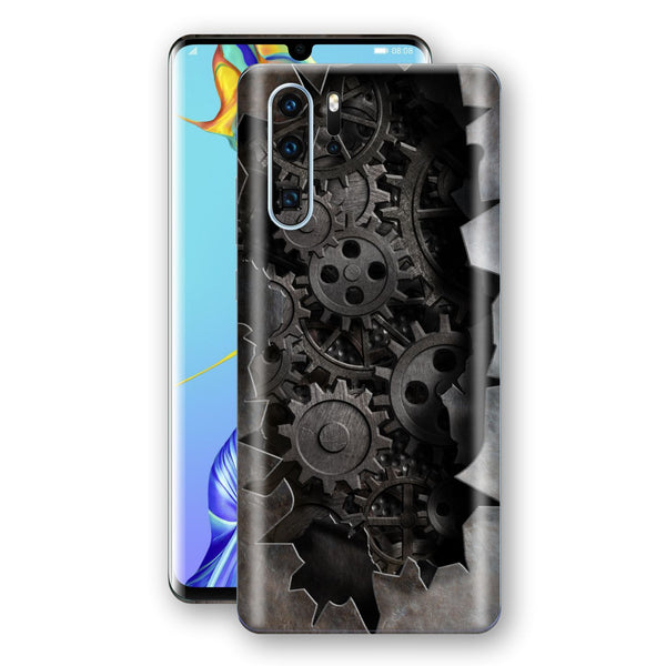 Huawei P30 PRO Print Custom Signature 3D Old Machine Skin Wrap Decal by EasySkinz