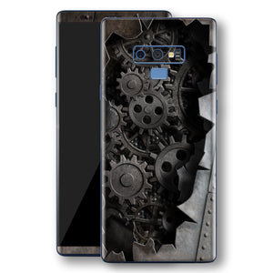 Samsung Galaxy NOTE 9 Print Custom Signature 3D Old Machine Skin Wrap Decal by EasySkinz
