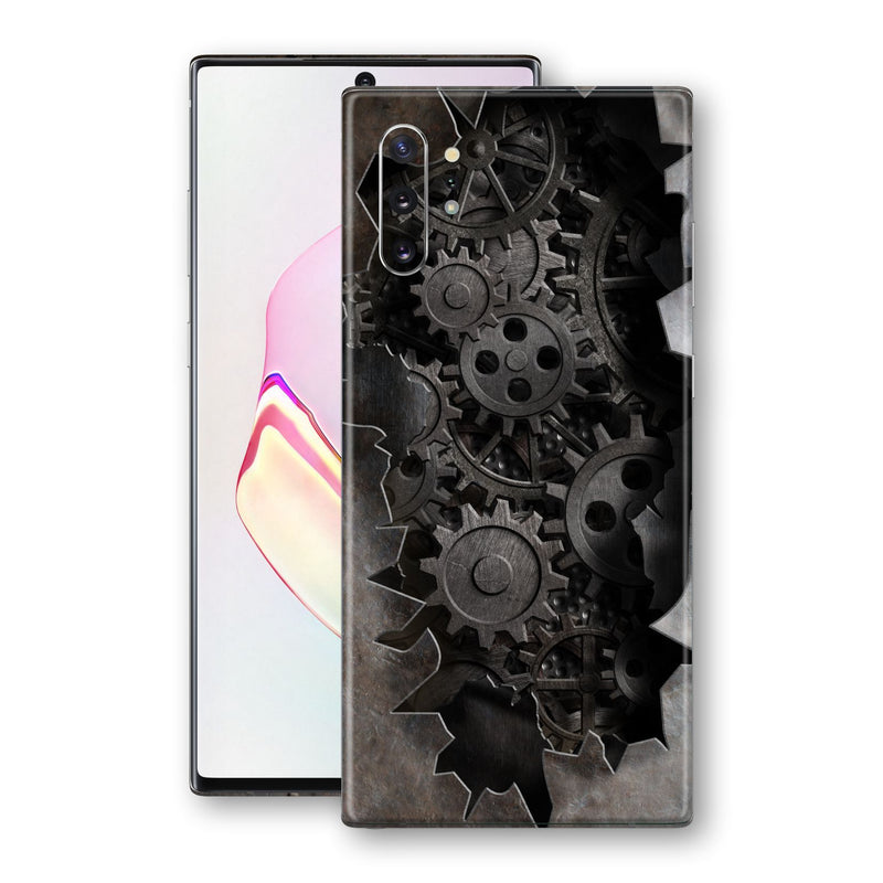 Samsung Galaxy NOTE 10+ PLUS Print Custom Signature 3D Old Machine Skin Wrap Decal by EasySkinz
