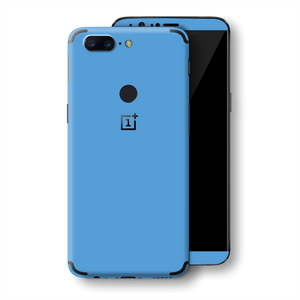OnePlus 5T SKY BLUE Glossy Gloss Finish Skin, Decal, Wrap, Protector, Cover by EasySkinz | EasySkinz.com