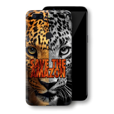 OnePlus 5T SAVE THE AMAZON Skin, Decal, Wrap, Protector, Cover by EasySkinz | EasySkinz.com
