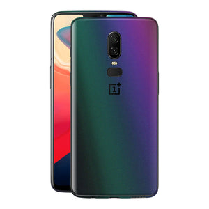 OnePlus 6 Chameleon DARK OPAL Skin Wrap Decal Cover by EasySkinz
