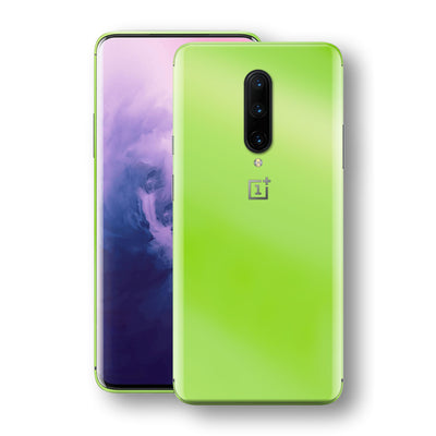 OnePlus 7 PRO Apple Green Pearl Gloss Finish Skin Wrap Decal Cover by EasySkinz