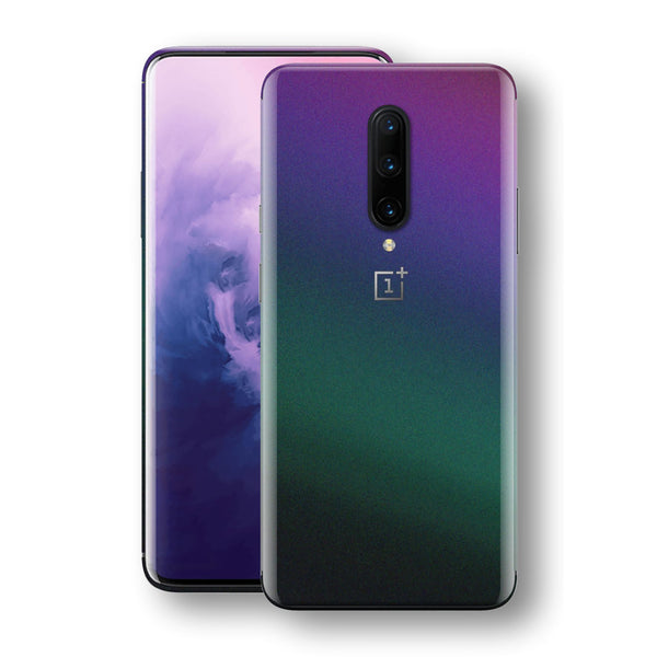 OnePlus 7 PRO Chameleon DARK OPAL Skin Wrap Decal Cover by EasySkinz