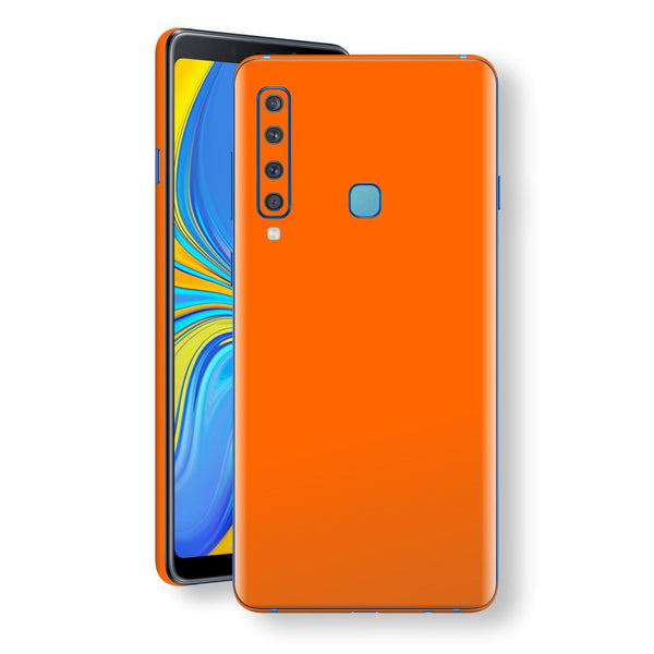 Samsung Galaxy A9 (2018) Orange Matt Skin, Decal, Wrap, Protector, Cover by EasySkinz | EasySkinz.com