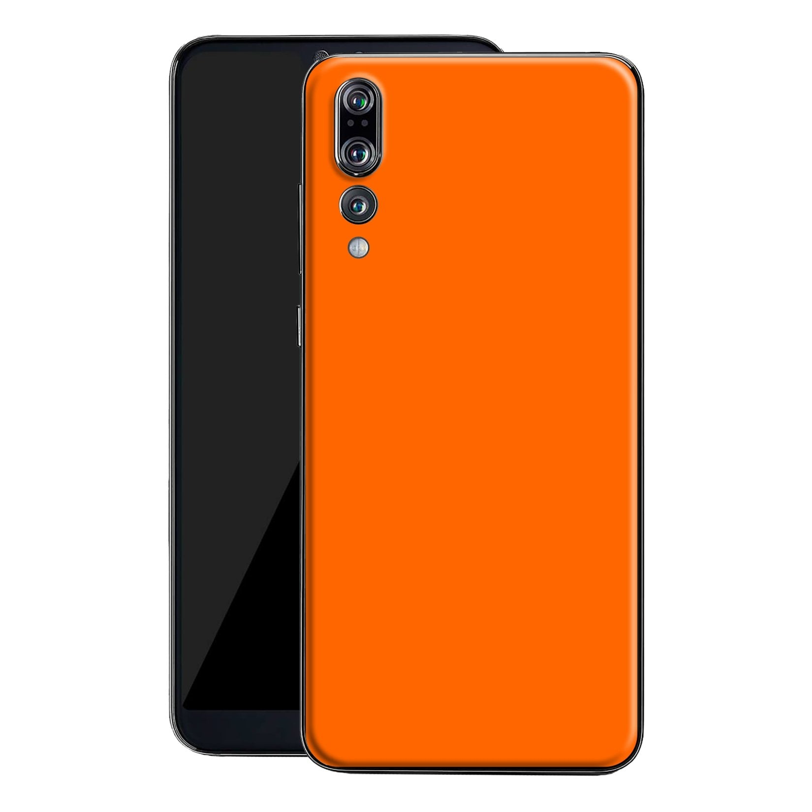 Huawei P20 PRO Orange Glossy Gloss Finish Skin, Decal, Wrap, Protector, Cover by EasySkinz | EasySkinz.com