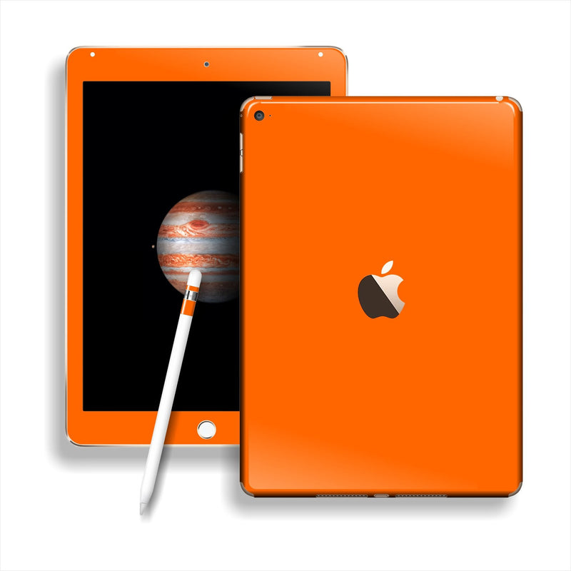 iPad PRO Glossy ORANGE Skin Wrap Sticker Decal Cover Protector by EasySkinz