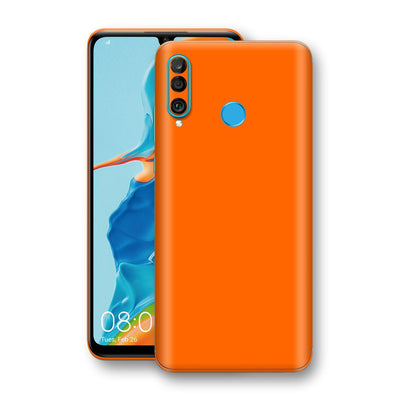 Huawei P30 LITE Orange Glossy Gloss Finish Skin, Decal, Wrap, Protector, Cover by EasySkinz | EasySkinz.com