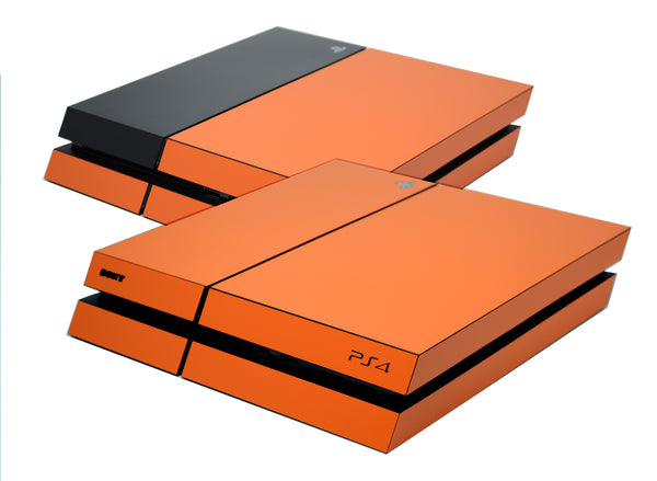 ps4 orange matt skin