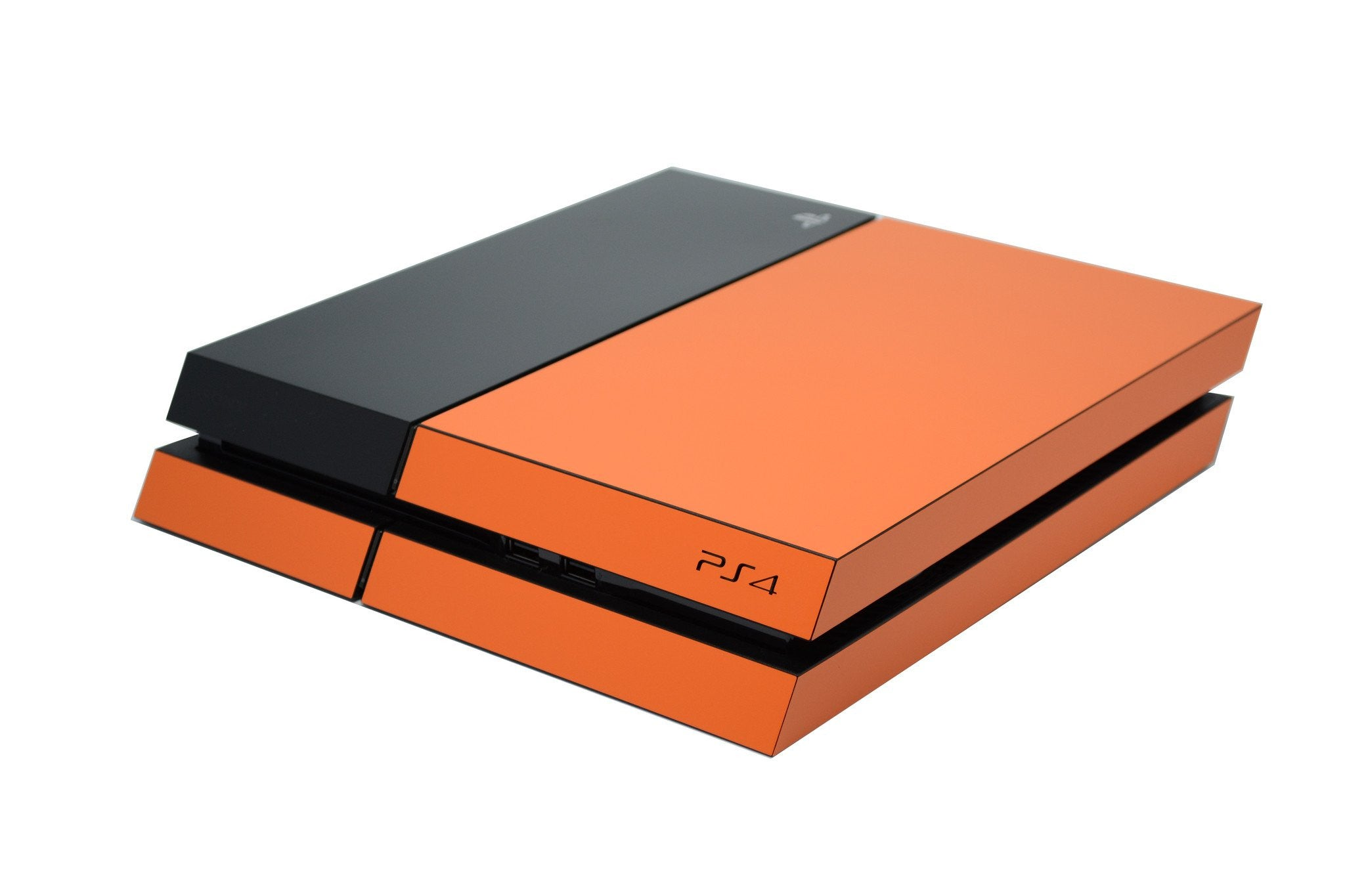 ps4 orange matt part body skin