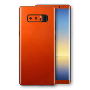 Samsung Galaxy NOTE 8 Fiery Orange Tuning Metallic Skin, Decal, Wrap, Protector, Cover by EasySkinz | EasySkinz.com