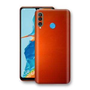 Huawei P30 LITE Fiery Orange Tuning Metallic Skin, Decal, Wrap, Protector, Cover by EasySkinz | EasySkinz.com