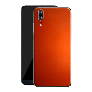 Huawei P20 Fiery Orange Tuning Metallic Skin, Decal, Wrap, Protector, Cover by EasySkinz | EasySkinz.com