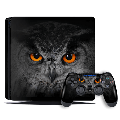 Playstation 4 SLIM PS4 Signature OWL Skin Wrap Decal by EasySkinz