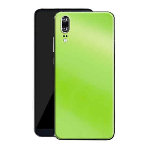 Huawei P20 Apple Green Pearl Gloss Finish Skin, Decal, Wrap, Protector, Cover by EasySkinz | EasySkinz.com