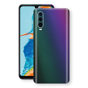 Huawei P30 Chameleon DARK OPAL Skin Wrap Decal Cover by EasySkinz