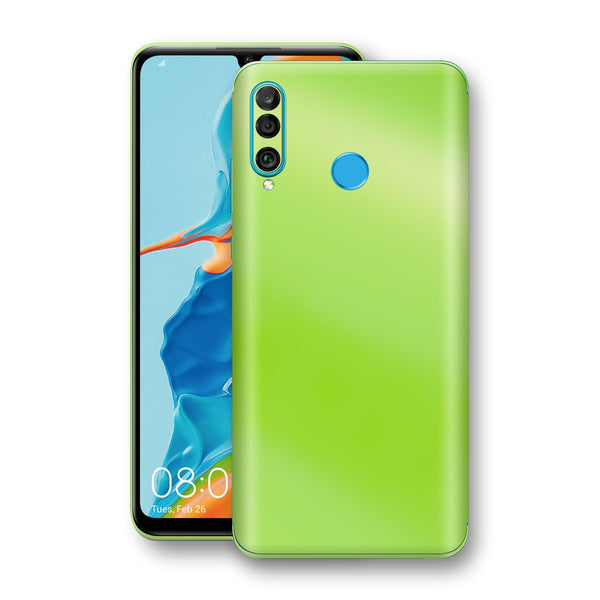 Huawei P30 LITE Apple Green Pearl Gloss Finish Skin Wrap Decal Cover by EasySkinz