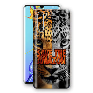 Huawei P30 PRO SAVE THE AMAZON Skin Wrap Decal Cover by EasySkinz