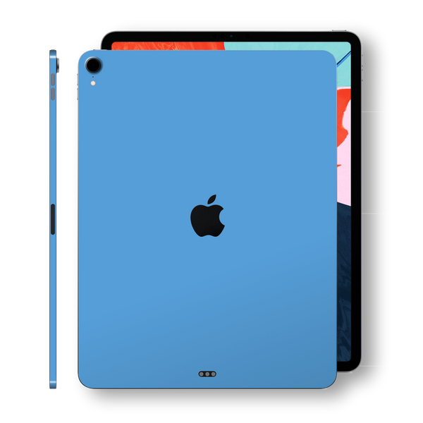"iPad PRO 11"" inch 2018 SKY BLUE Gloss Glossy Skin, Decal, Wrap, Protector, Cover by EasySkinz 