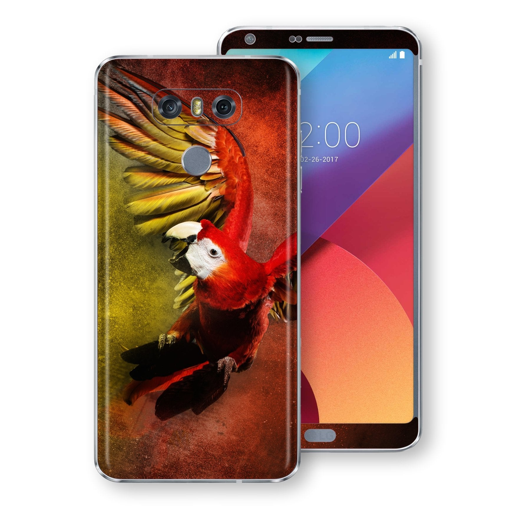 LG G6 Signature PARROT Skin Wrap Decal by EasySkinz