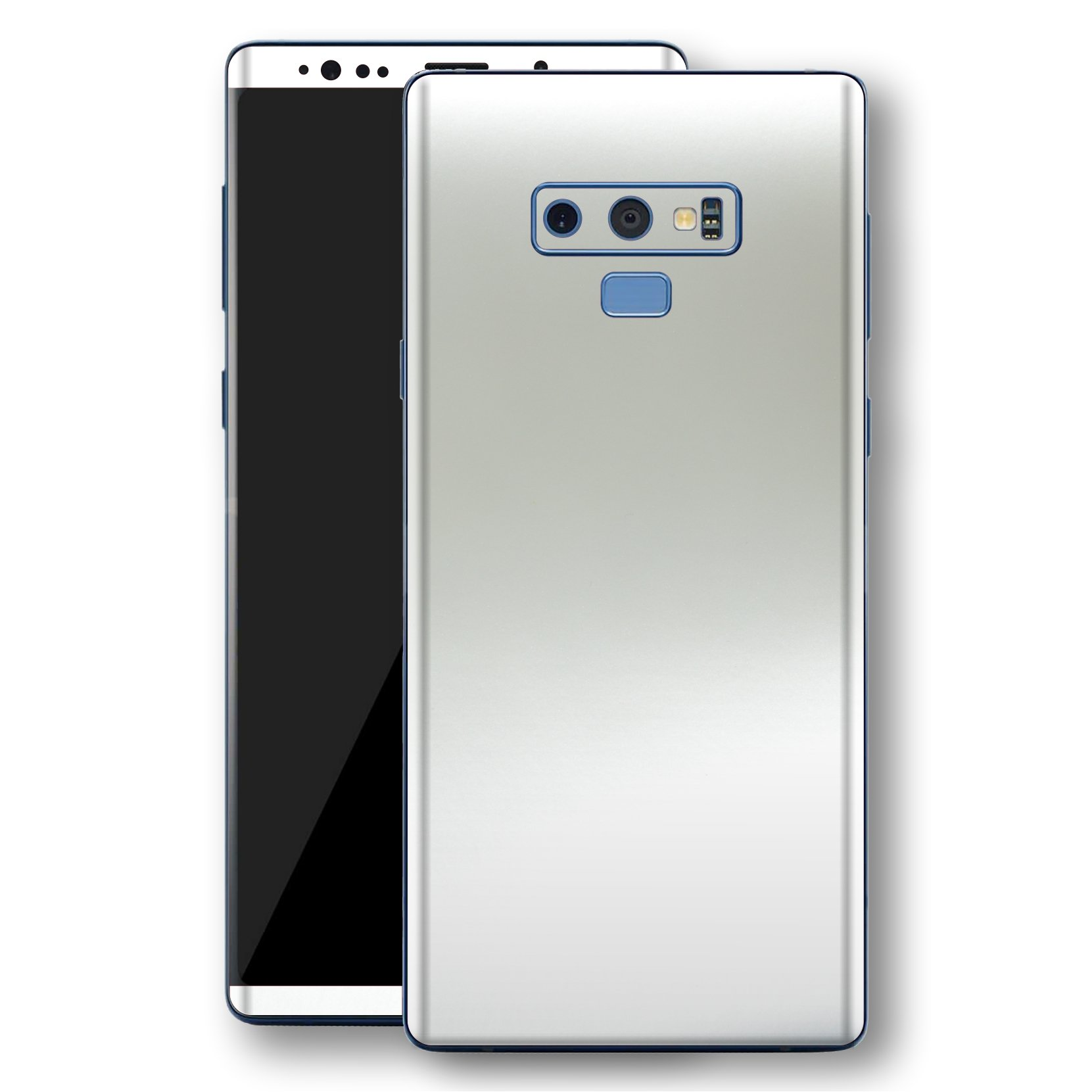 Samsung Galaxy NOTE 9 Satin Pearl White Matt Skin, Decal, Wrap, Protector, Cover by EasySkinz | EasySkinz.com