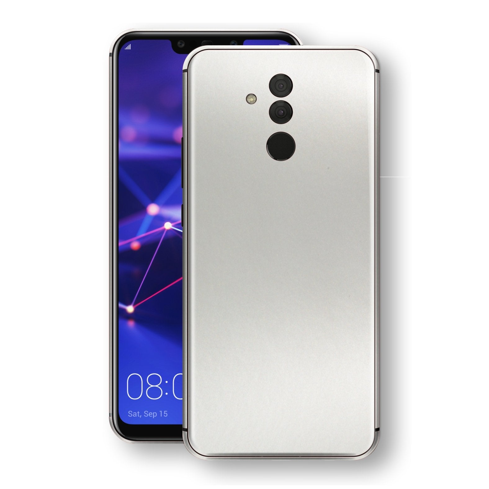Huawei MATE 20 LITE Satin Pearl White Matt Skin, Decal, Wrap, Protector, Cover by EasySkinz | EasySkinz.com