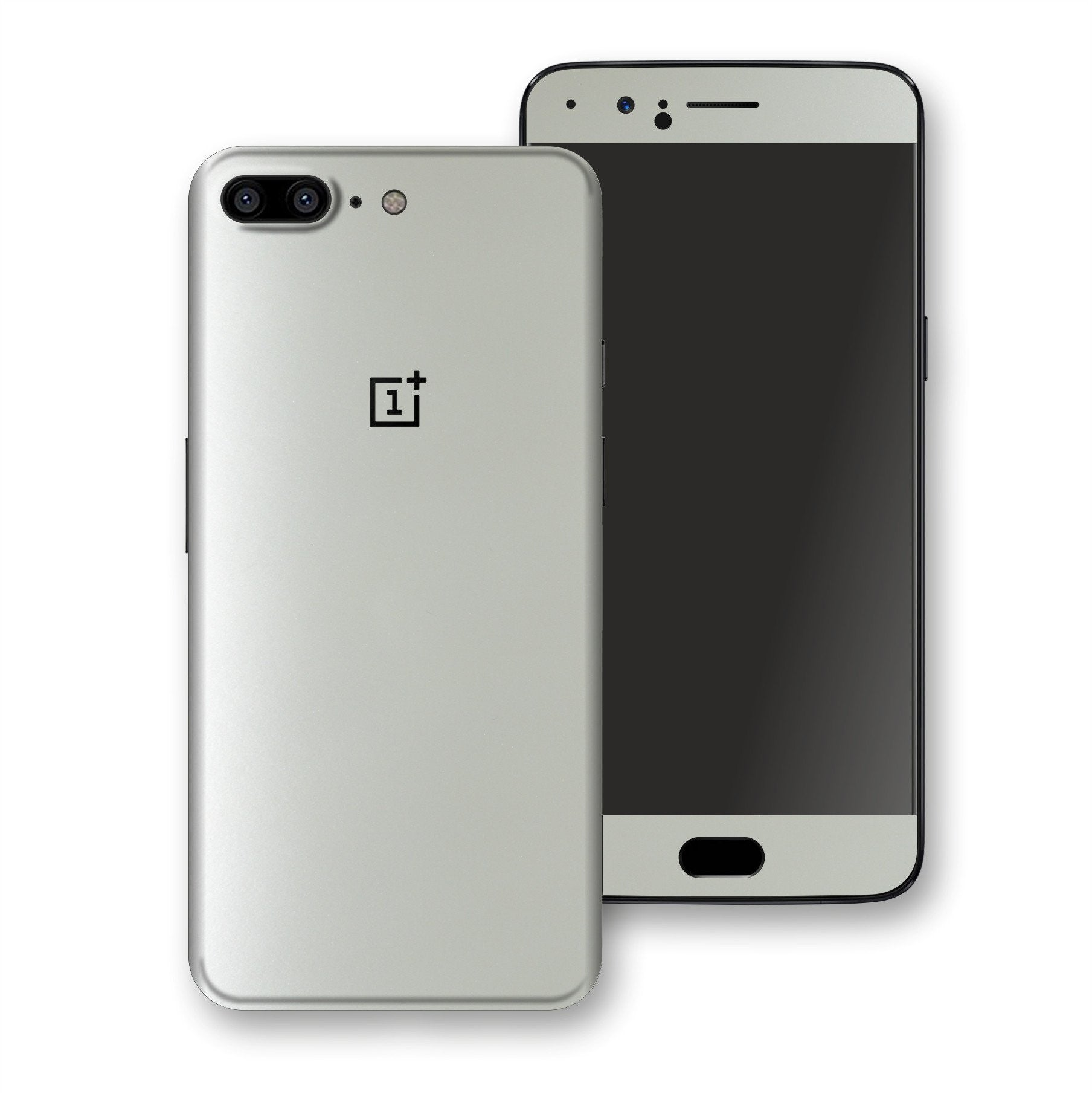 OnePlus 5 Satin Pearl White Matt Skin, Decal, Wrap, Protector, Cover by EasySkinz | EasySkinz.com