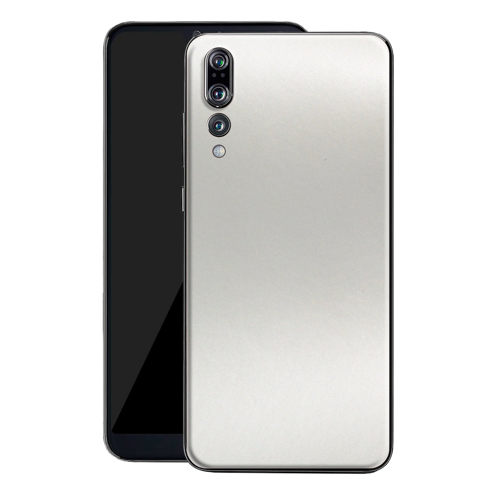 Huawei P20 PRO Satin Pearl White Matt Skin, Decal, Wrap, Protector, Cover by EasySkinz | EasySkinz.com