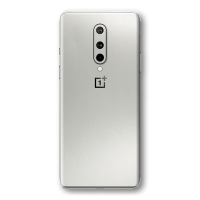 OnePlus 8 Satin Pearl White Matt Skin Wrap Sticker Decal Cover Protector by EasySkinz