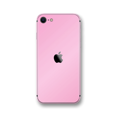 iPhone SE (2020) Pink Matt Skin Wrap Sticker Decal Cover Protector by EasySkinz