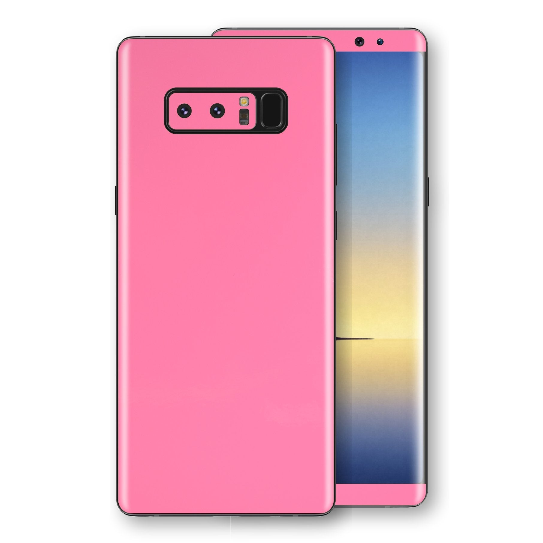 Samsung Galaxy NOTE 8 Pink Matt Skin, Decal, Wrap, Protector, Cover by EasySkinz | EasySkinz.com