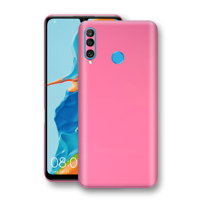 Huawei P30 LITE Hot Pink Glossy Gloss Finish Skin, Decal, Wrap, Protector, Cover by EasySkinz | EasySkinz.com